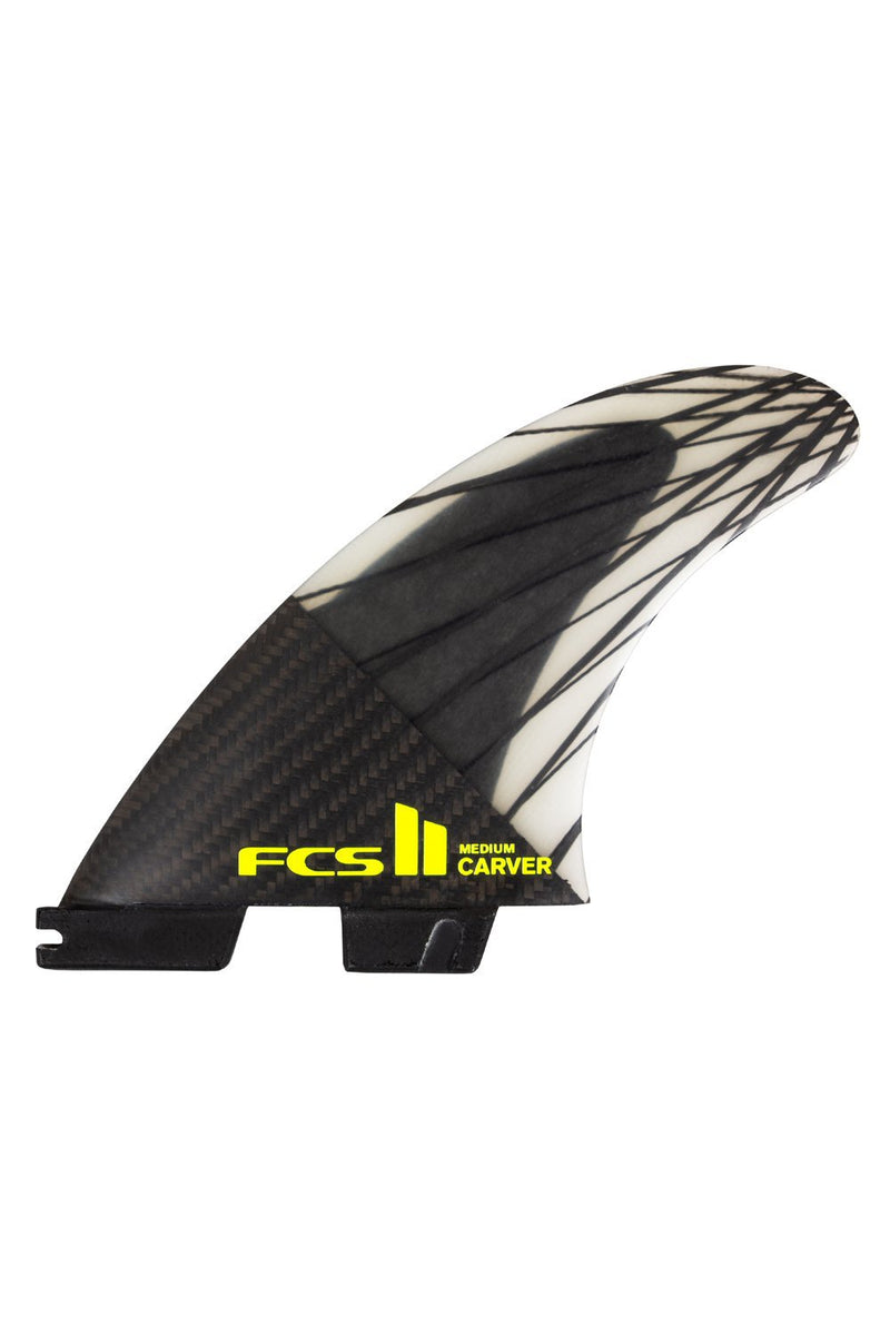 FCS 2 Carver PC Carbon Tri Fin Set