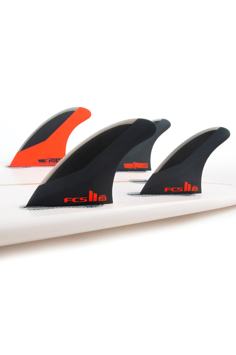 FCS 2 Jason Stevenson PC Tri Quad Fin Set