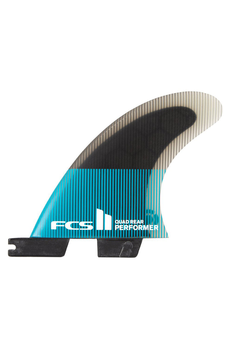 FCS 2 Performer PC Quad Rear Fin Set