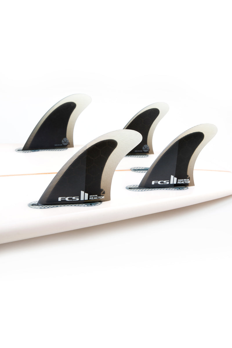 FCS 2 Reactor PC Quad Rear Fin Set