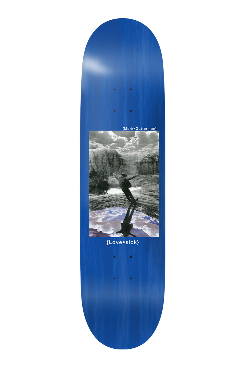 Lovesick Skateboards | Mark Gutterman Drifter Skateboard Deck - 8.0""