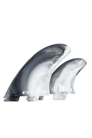FCS2 MR Mark Richards PC Twin Fin 2+1 Tri Fin Set