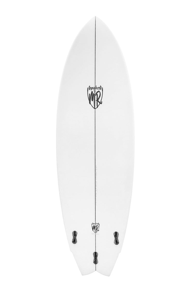 Mark Richards MR x Mayhem Cal' Twin Fin Surfboard