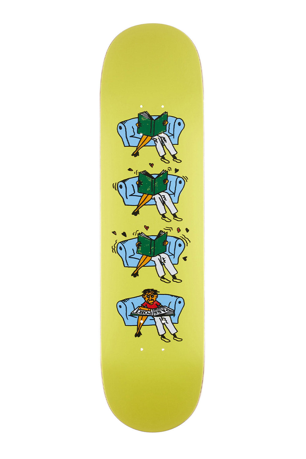 "Shop Passport  | ""Legs"" What You Thought Series Skateboard Deck"