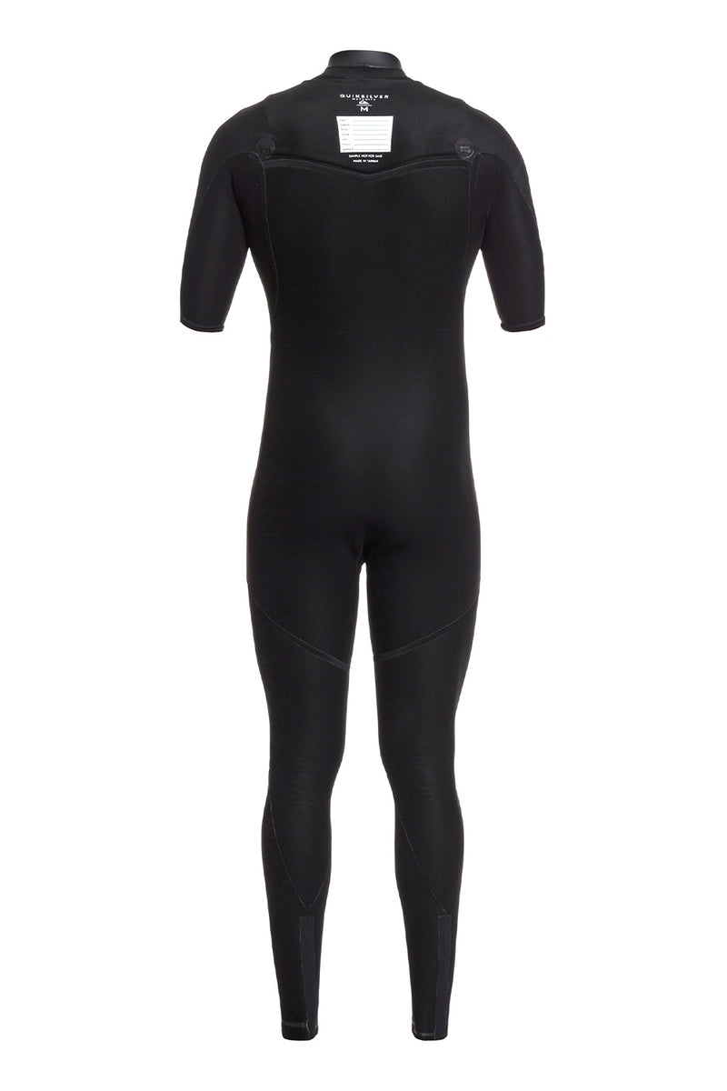 Quiksilver Highline Ltd Monochrome 2/2mm Short Sleeve Chest Zip Springsuit