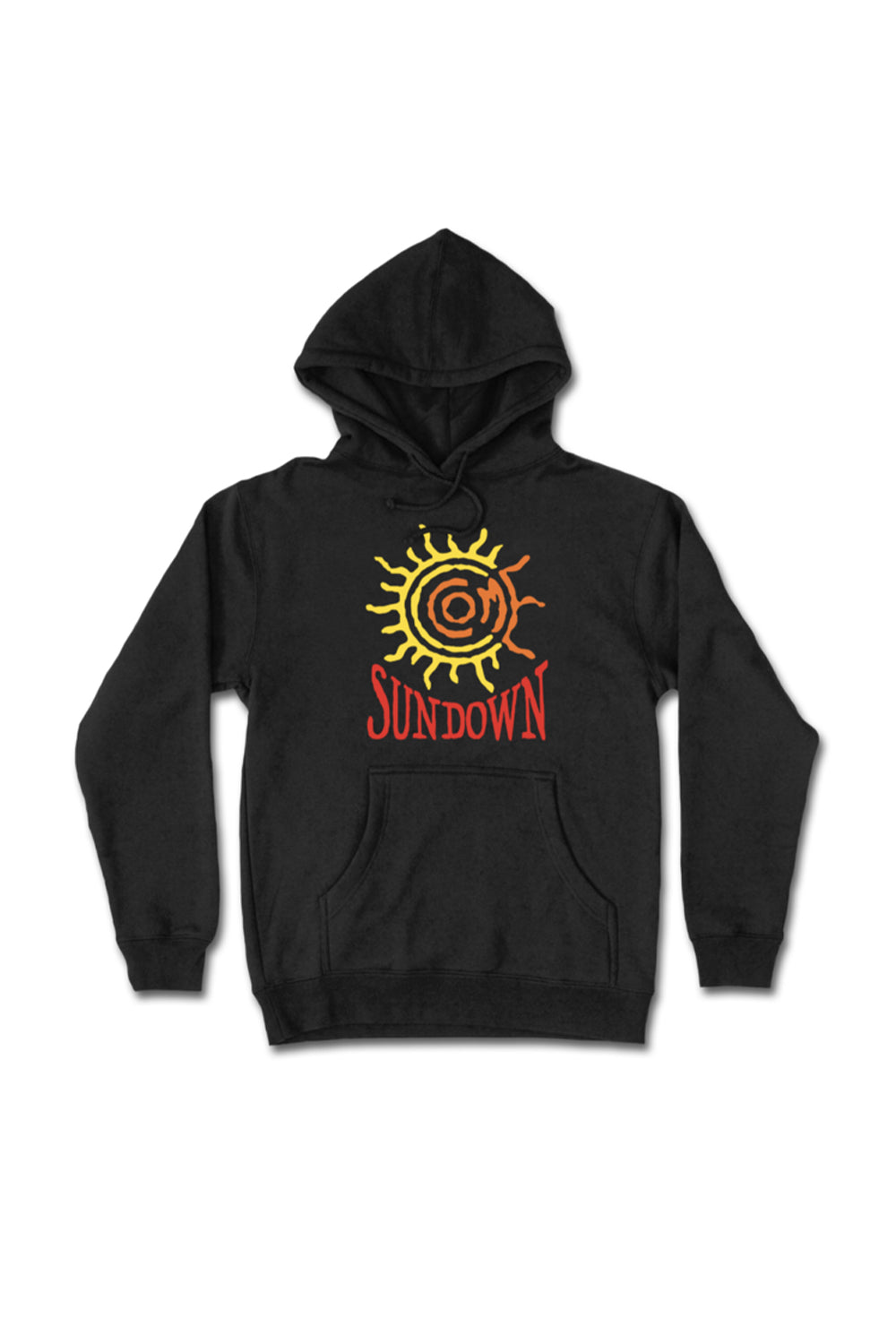 Shop Come Sundown | Come Sundown Sun (Puff Print) Hoodie