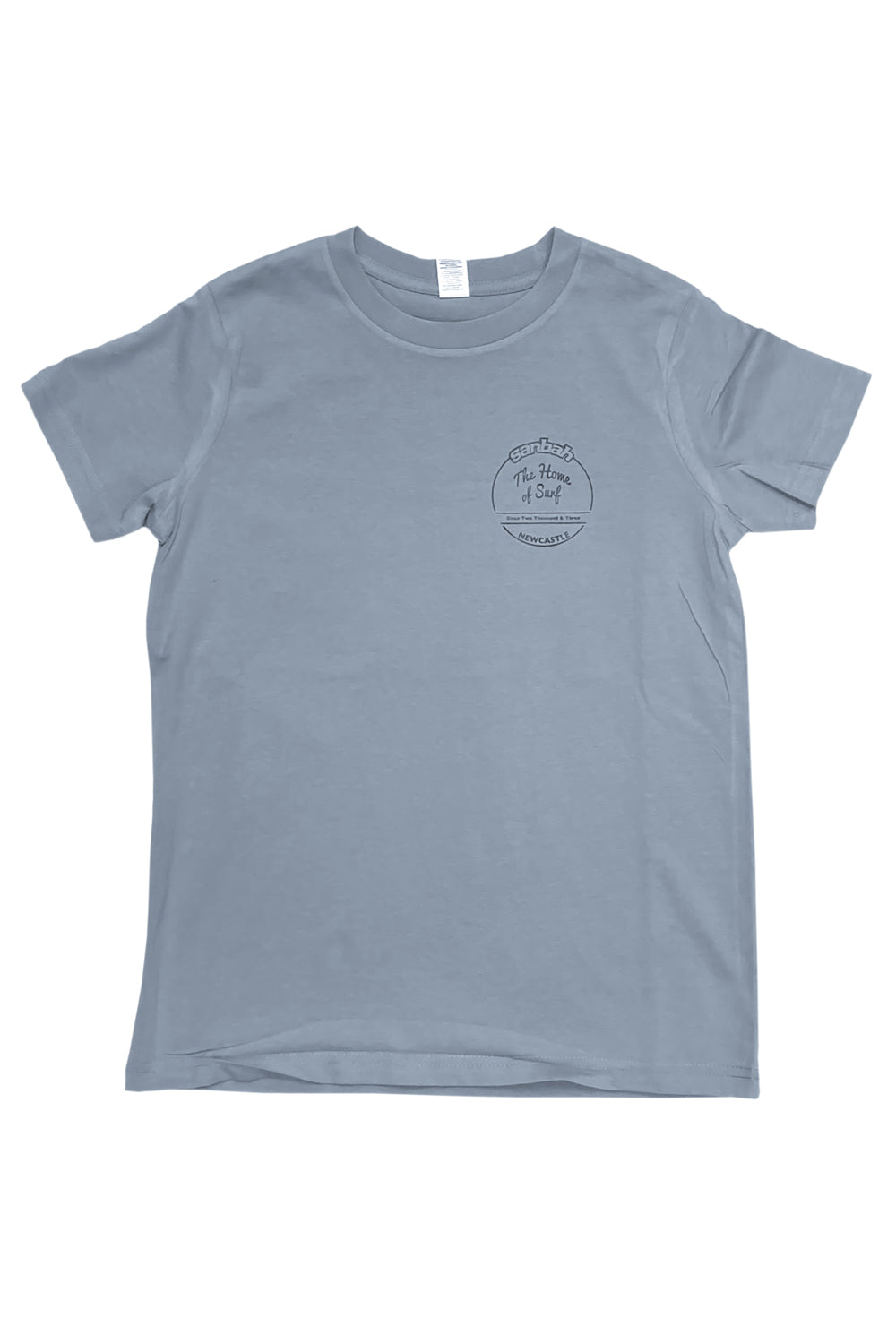 Sanbah Kids Home Of Surf T-Shirt Carolina Blue