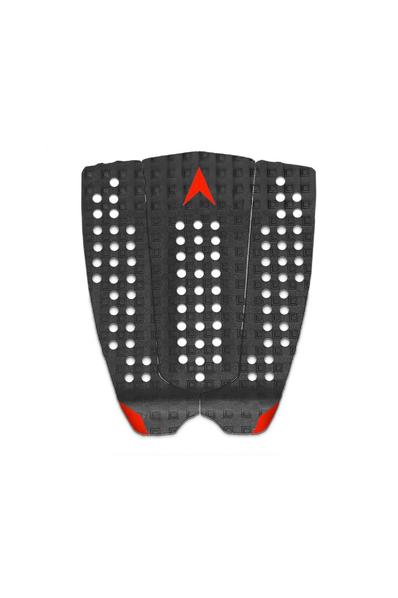 Astro Deck Flat & Fast - Black / Red Grip Pad Traction