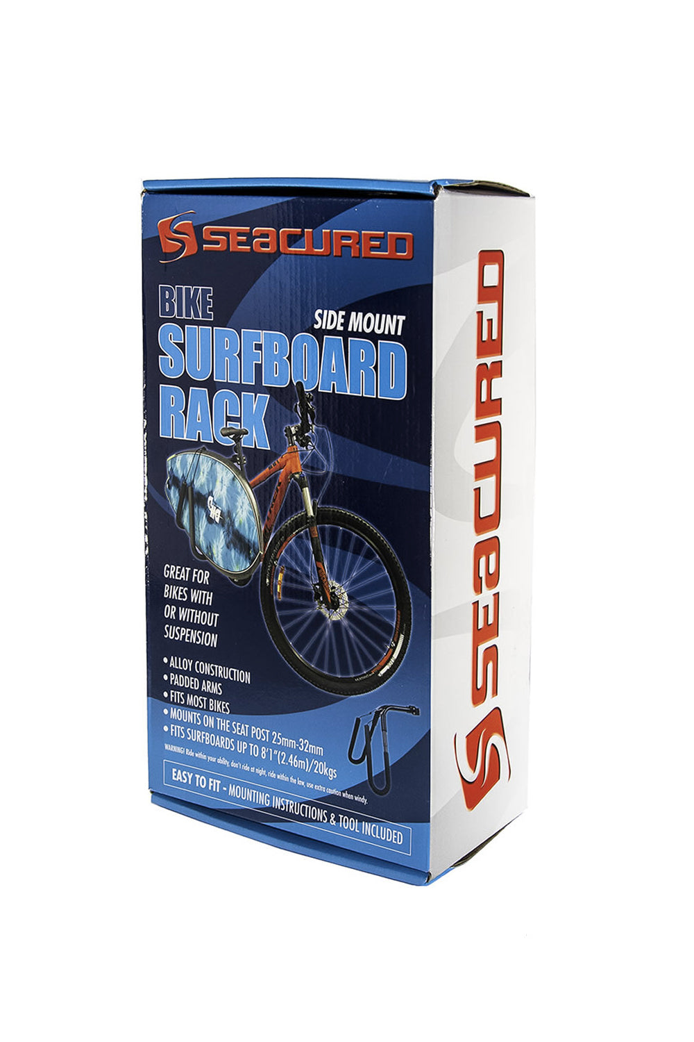 Seacured Bike Surfboard Side Rack