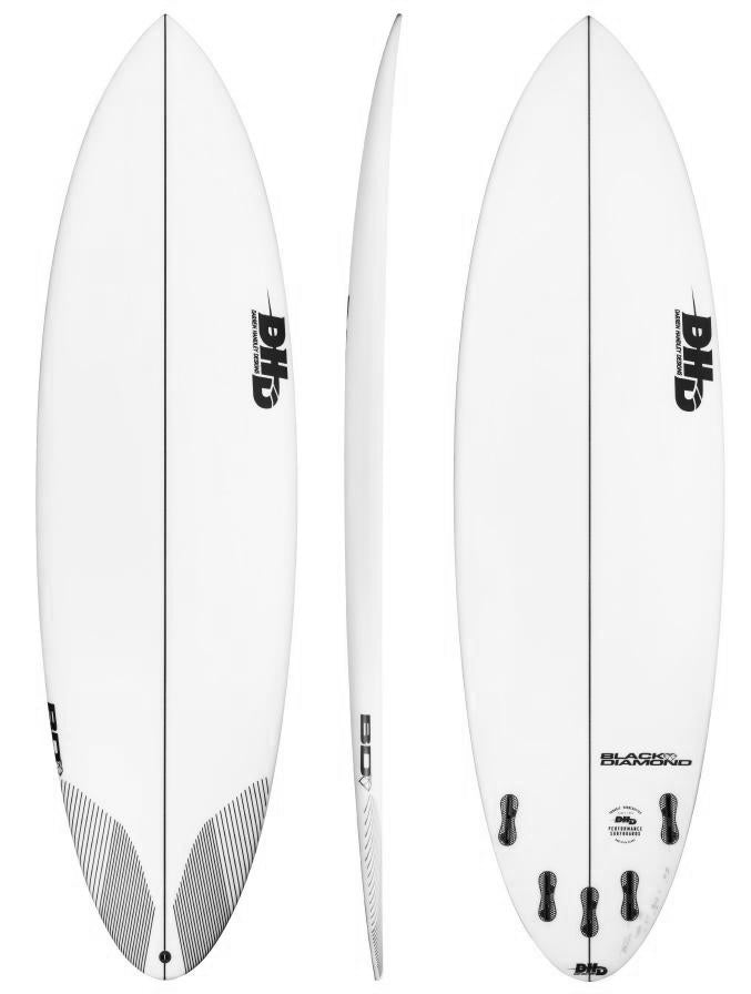 DHD Black Diamond Surfboard