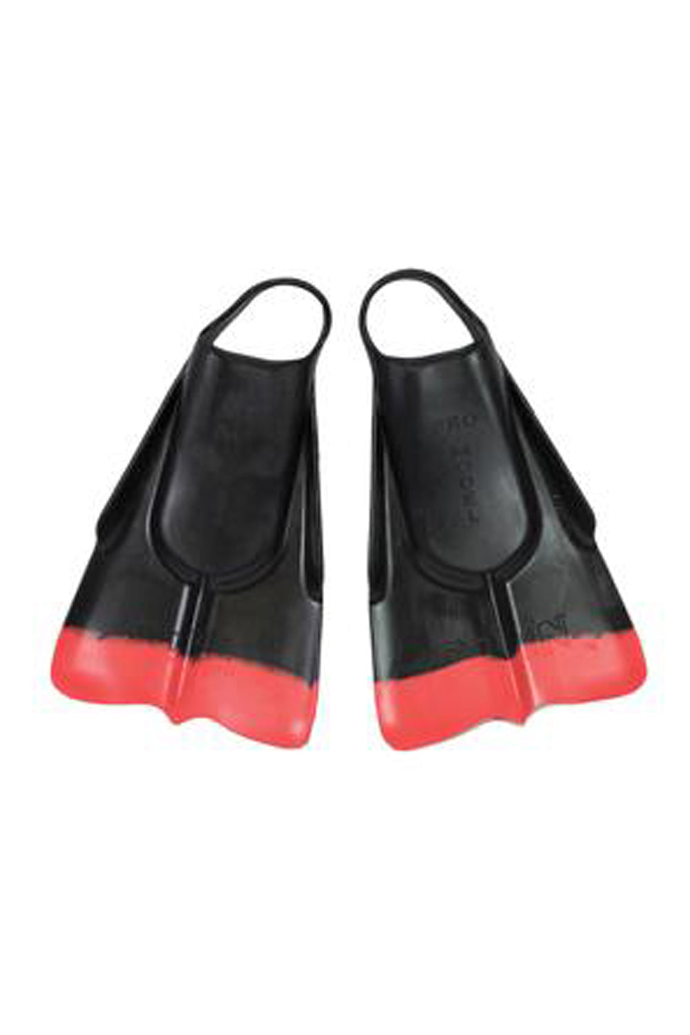 Da Fin Swimfins Flippers - Black / Red