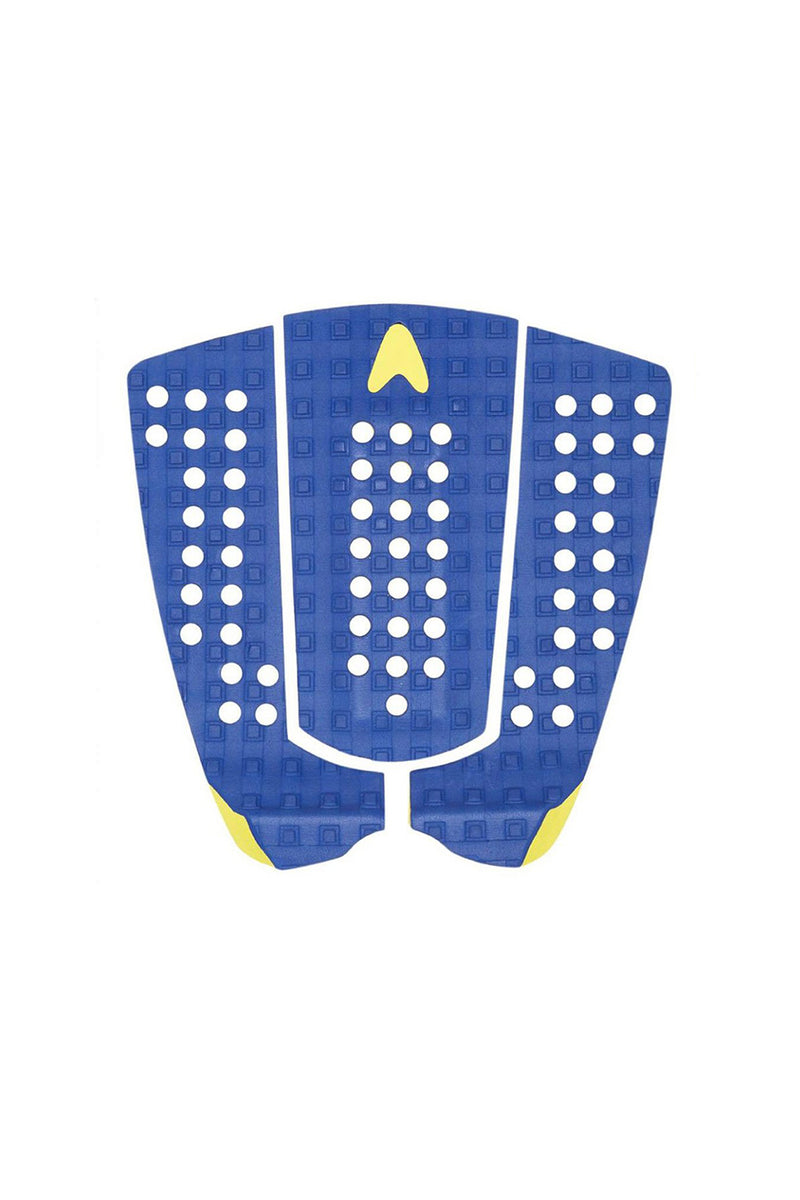 Astro Deck New Nathan - Blue / Yellow Grip Pad Traction