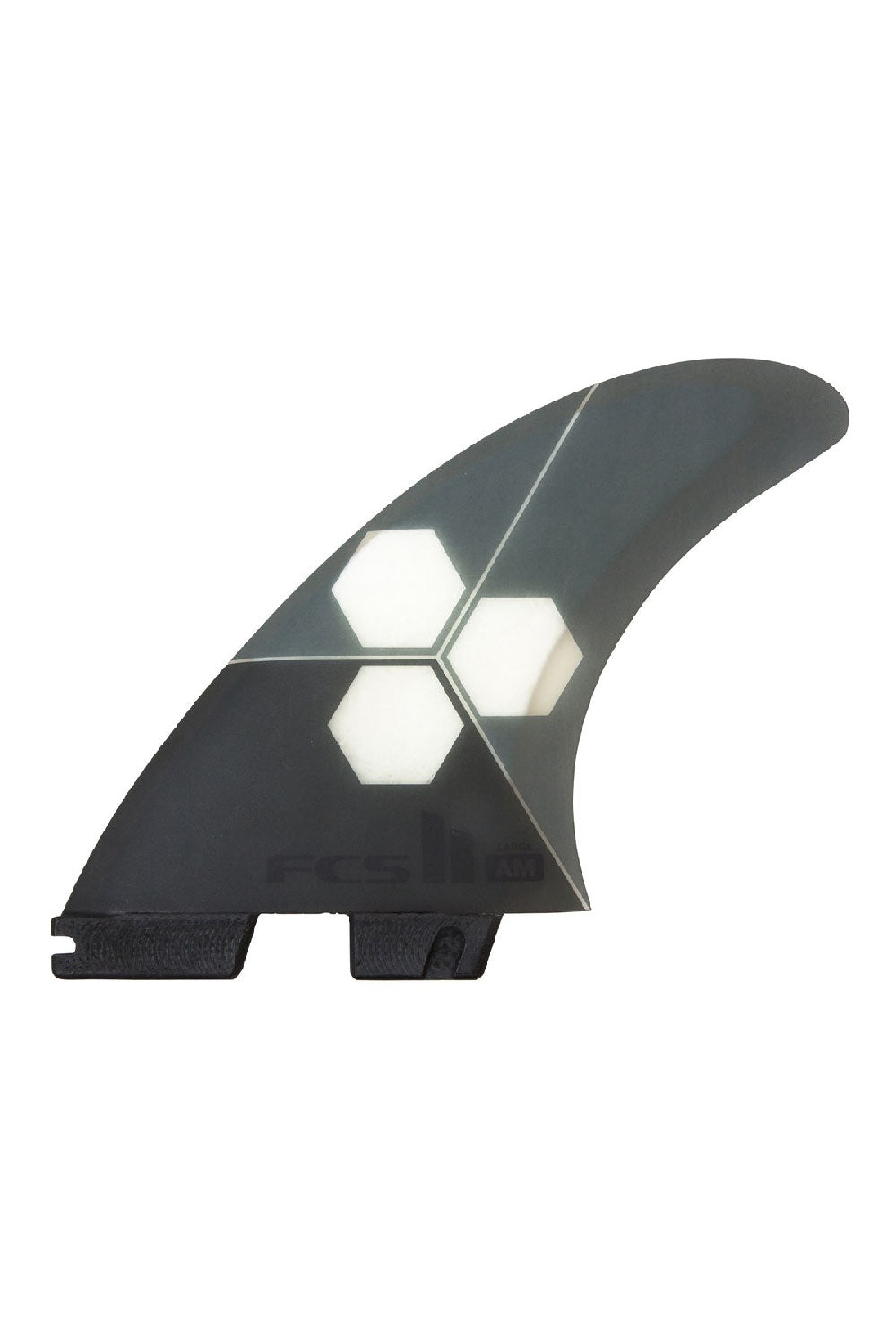 FCS 2 AM PC Ultra Light Tri Quad Fin Set