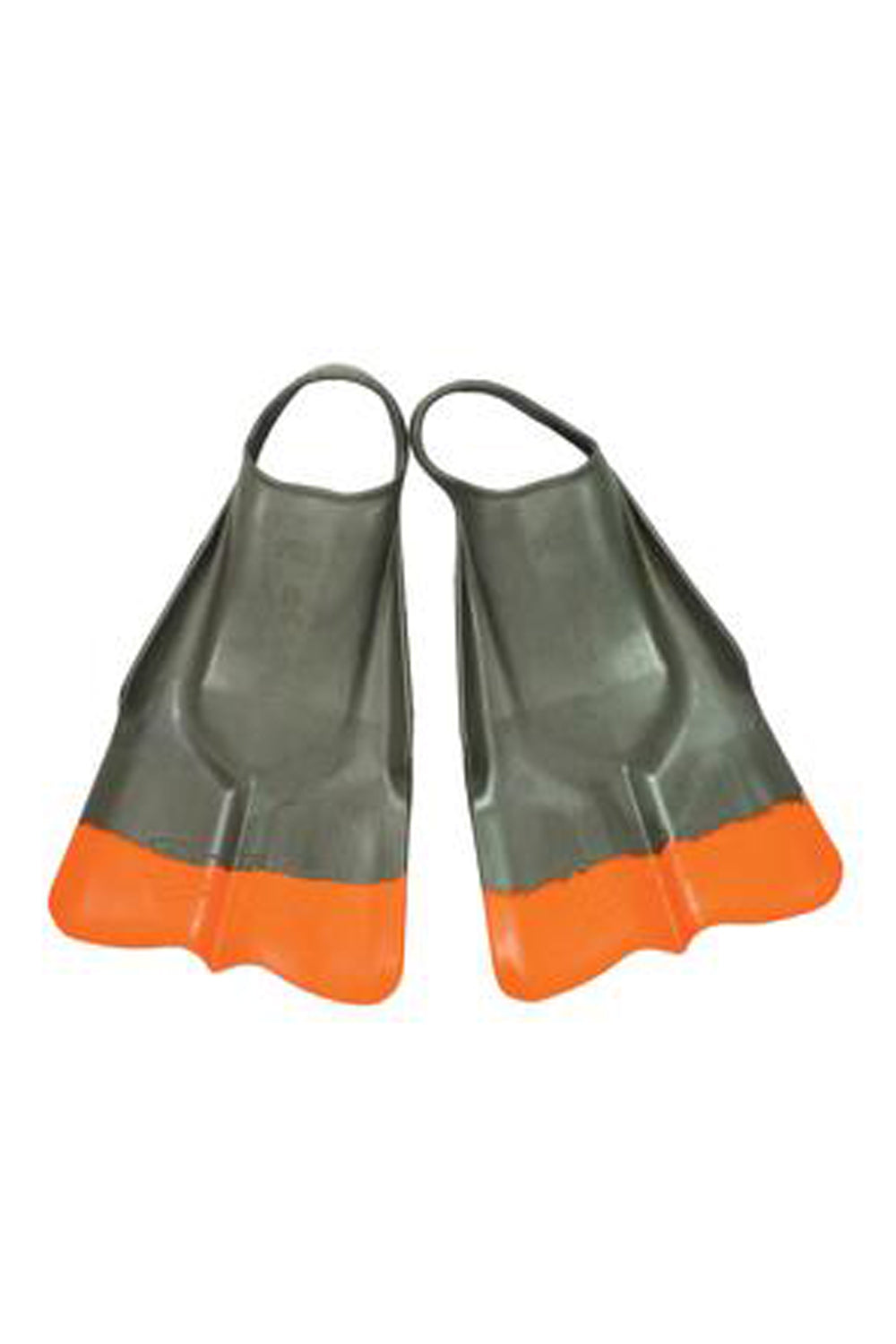 Da Fin Swimfins Flippers - Grey / Orange