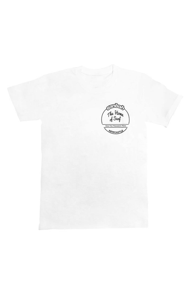 Sanbah Home Of Surf T-Shirt White