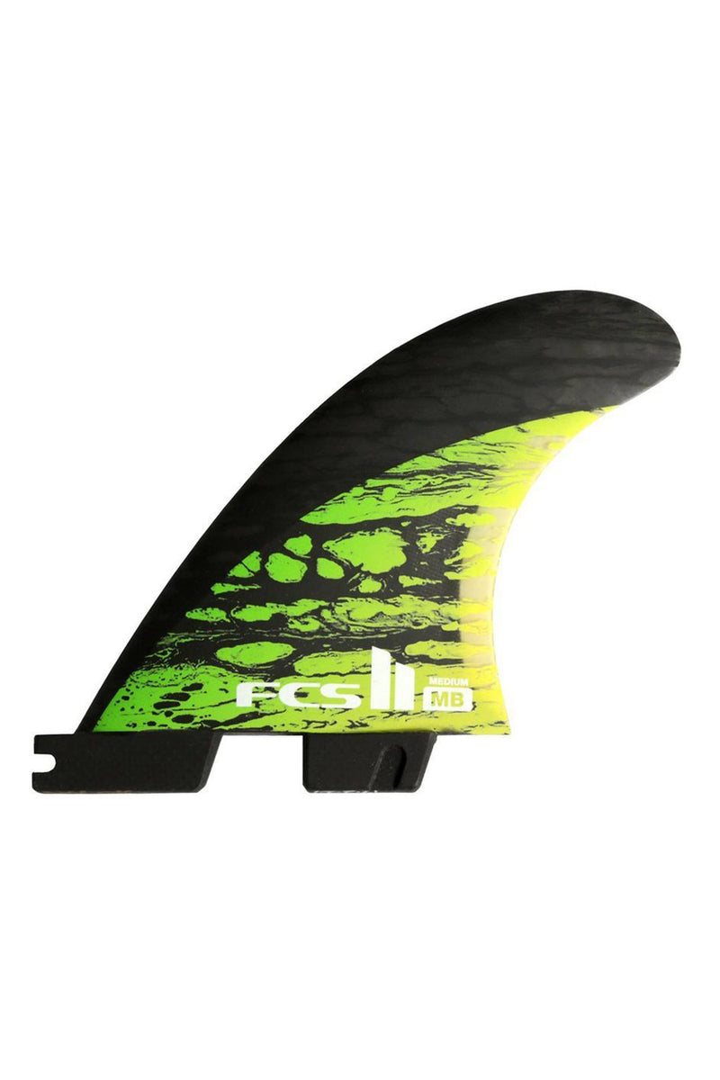 FCS 2 Matt Biolos Tri-Quad Fins Medium