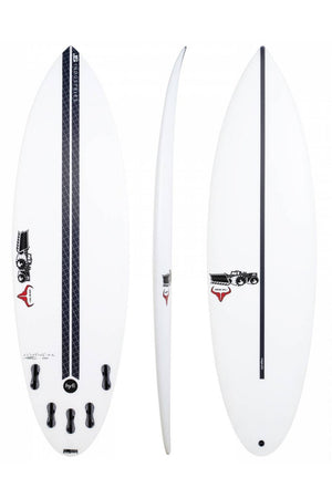 JS Industries Raging Bull Round Tail HYFI Surfboard
