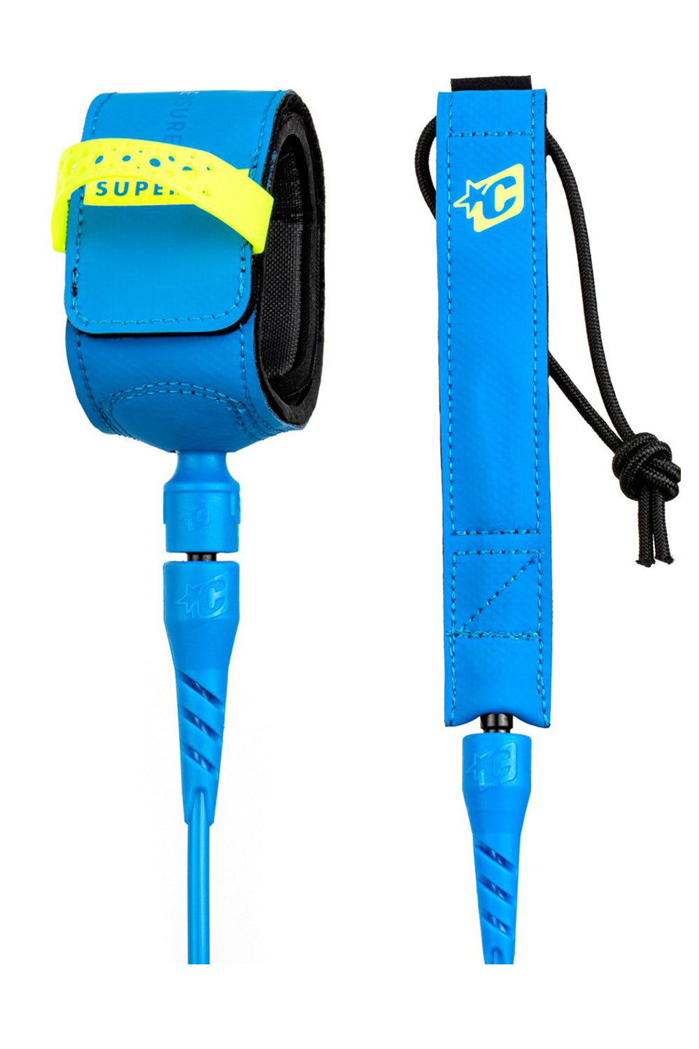 5ft Creatures of Leisure Grom Superlite Lite Leash Legrope