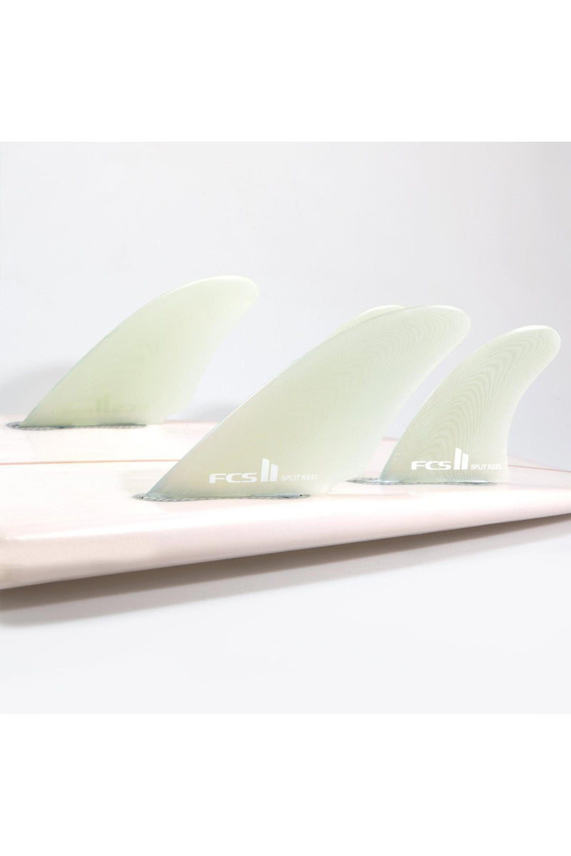 FCS 2 Split Keel Quad Fin Set