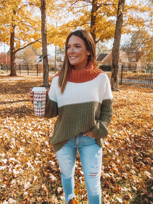 Falling For You Chunky Sweater