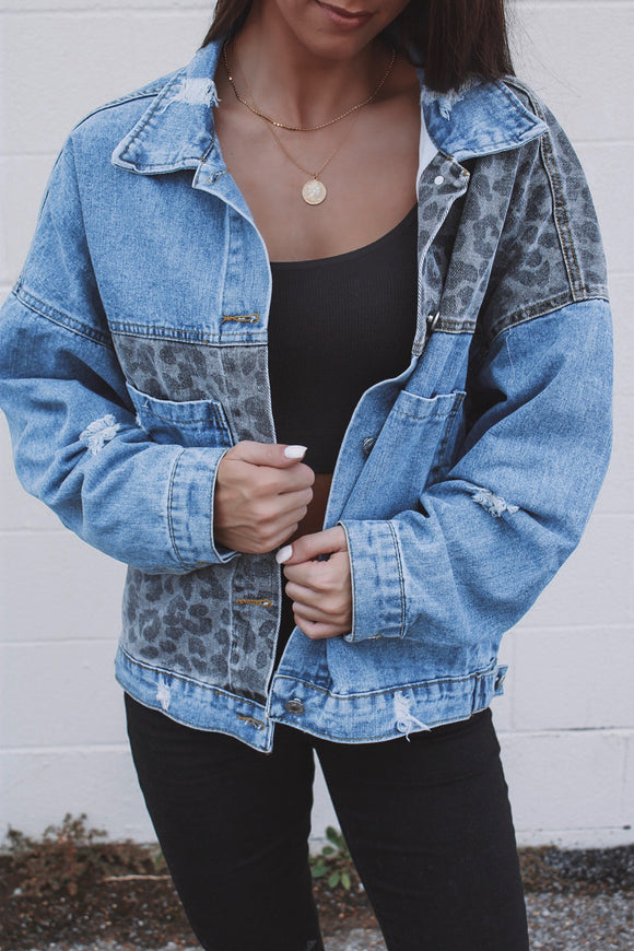 Steal The Show Denim Jacket