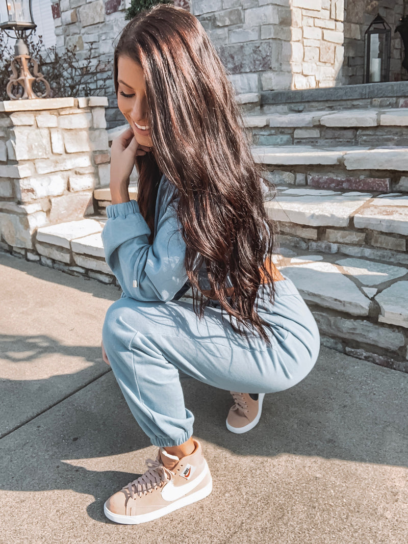 Anything But Basic Jogger Two-Piece Set