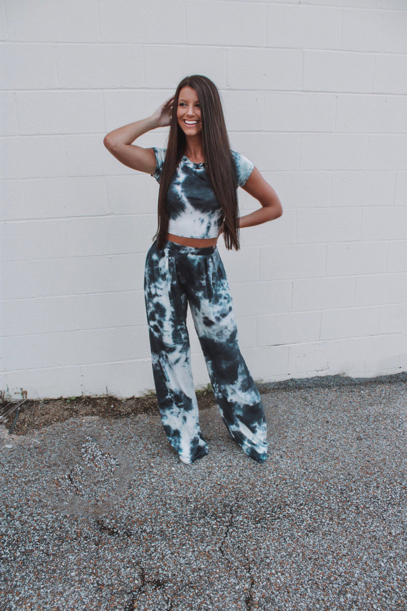 Wildest Dreams Tie Dye Two Piece Pant Set