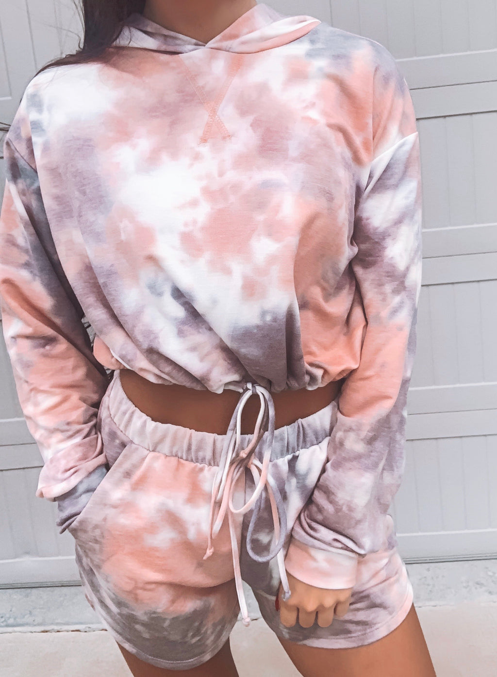 Wild & Free Tie Dye Two-Piece Set - Pink