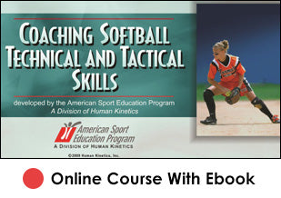 FL Coaching Softball Technical and Tactical Skills Online With eBook