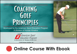 Coaching Golf Principles Online-eBook Edition
