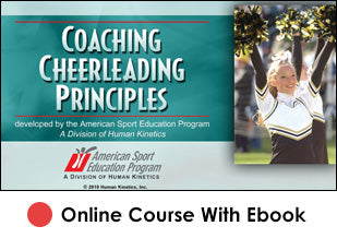 Coaching Cheerleading Principles Online 2nd Edition With eBook