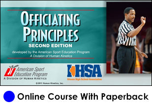 IHSA Officiating Principles Online-2nd Edition-with Book