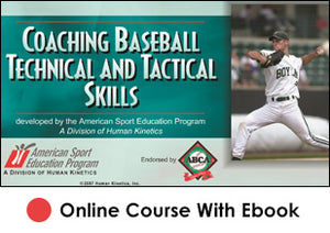 Coaching Baseball Technical and Tactical Skills Online With eBook