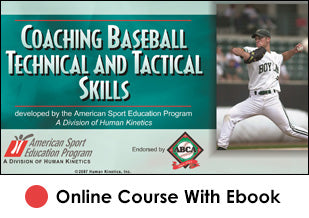 CIF Coaching Baseball Technical and Tactical Skills Online With eBook