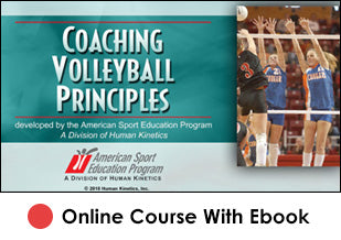 Coaching Volleyball Principles Online-eBook Edition