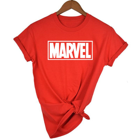 Fashion Marvel Short Sleeve T-shirt