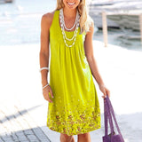 Hot Sale Women Sleeveless Dresses