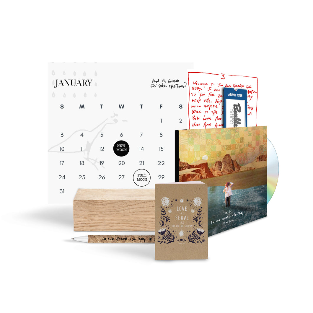 Great Storm Clouds Bundle Preorder - (Moon phase calendar + Notebook & pen + Album)