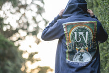 Load image into Gallery viewer, Reminder Zip Hoodie (Heather Navy)