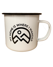 Load image into Gallery viewer, My Home Is Where I Wander Mug