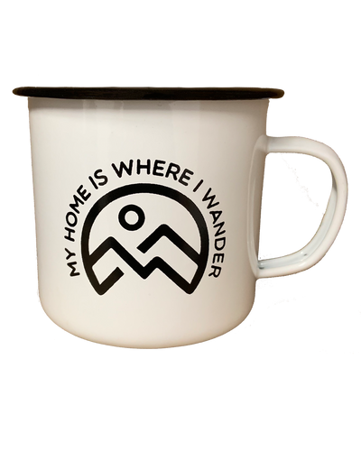 My Home Is Where I Wander Mug