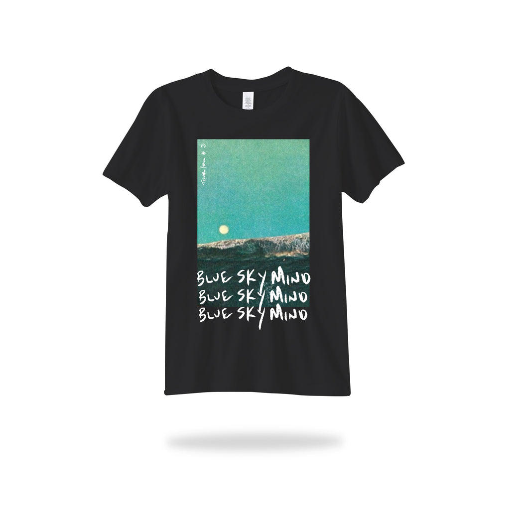 Blue Sky Mind Tee (Black and White versions available)