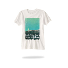 Load image into Gallery viewer, Blue Sky Mind Tee (Black and White versions available)