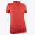 Druids Golf - Ladies Active Flo Trim Polo (Coral)