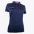 Druids Golf - Ladies Active Flo Trim Polo (Navy)