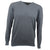 Druids Golf - Cotton V Neck Sweater (Charcoal)