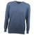 Druids Golf - Cotton V Neck Sweater (Navy)