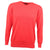 Druids Golf - Cotton V Neck Sweater (Red)