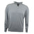 Druids Golf - Cotton Zip Neck Sweater (Grey)