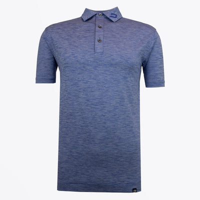 Druids Golf - Mens Flek Polo (Blue)